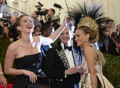 Jennifer Lawrence, Sarah Jessica Parker, MET Gala