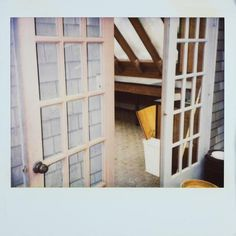 New Kurt Cobain death scene photos - Pictures - CBS News. A photo of the doorway inside Kurt Cobain's home.