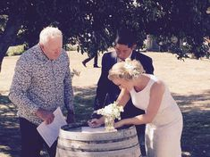 Brackenridge is the perfect Wairarapa wedding venue with beautiful spaces for your ceremony and reception, plus an onsite day spa and accommodation. Wine Barrels, Beautiful Space, Spa Day, Wedding Venues, Reception, Wedding Dresses, Fashion, Wedding Reception Venues, Bride Dresses