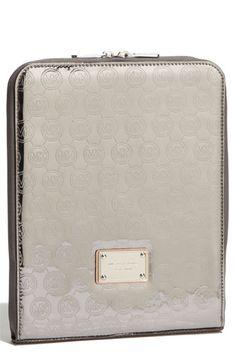 Michael Kors mirrored metallic ipad case- love Michael Kors Fashion 9a9e119350ec9