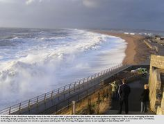 Storm Nov 2009, Chesil Beach, Portland, Dorset