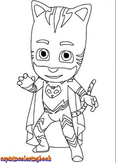 How To Draw Catboy From Pj Masks Drawingtutorials101 Com How To