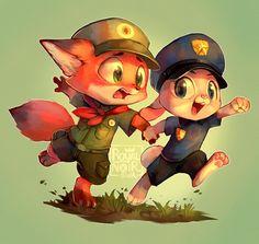 Little Zootopians, Big Dreams by RoyalNoir on DeviantArt