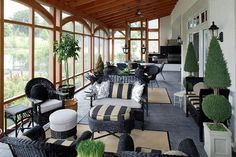 English Country House - traditional - Porch - Philadelphia - Dewson Construction Company