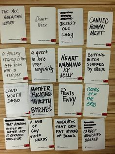 Blank card ideas for cards against humanity | Cards of humanity ...