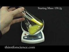 Conservation of Matter - very short video illustrating the principle