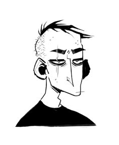 A homicidal fuck, please? - LAMENTING MY ANGUISH ONLINE Art by https://gnathix.tumblr.com/