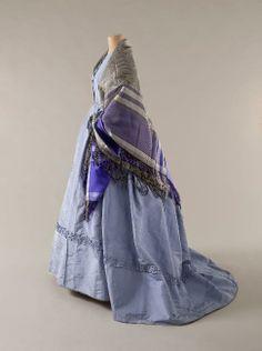 1860's dress & shawl