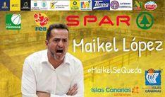 TIEMPO DE DEPORTE: Maikel López seguirá al frente del C.B. Islas Cana...