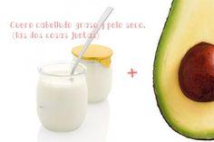 Cuidate el pelo sin gastar una forrrtuna - LA NACION Glass Of Milk, Avocado, Fruit, Drinks, Beauty, Food, Dead Skin, Damaged Hair, Drinking