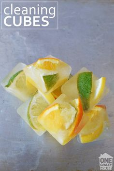 DIY Garbage Disposable Cleaner - One Crazy House Household Cleaning Tips, Cleaning Hacks, Cleaning Products, Unclog Garbage Disposal, Orange Peels Uses, Crafts For Teens To Make, Shower Cleaner, Keep It Cleaner, Recipes