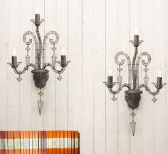Biju+French+Wire+Chandelier+Wall+Light