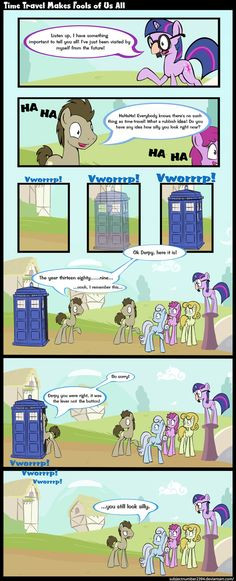 Time Travel Makes Fools of Us All by *SubjectNumber2394 on deviantART