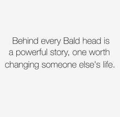 The Bald Movement is designed to support and empower our BALD family to embrace the essence of being BALD. Our goal is to encourage that Hair isn't the necessity for Beauty you are. Help us spread the awareness by sharing your story. (www.thebaldmovement.com)