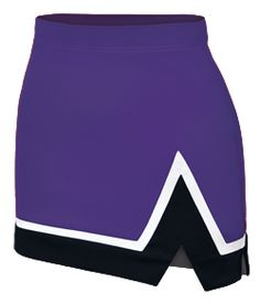Represent with the Tri-Color Stadium Cheerleading Uniform Skirt