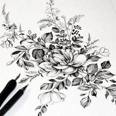 #artmagazine #artwork #artgalery #worldofartists #art_spotlight #sketch_daily #flowers #drawing #artgalaxies #whichinkilike