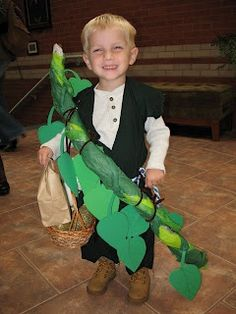 jack and the bean stalk costume | Jack and the beanstalk costume for book ... | Parties and Holidays