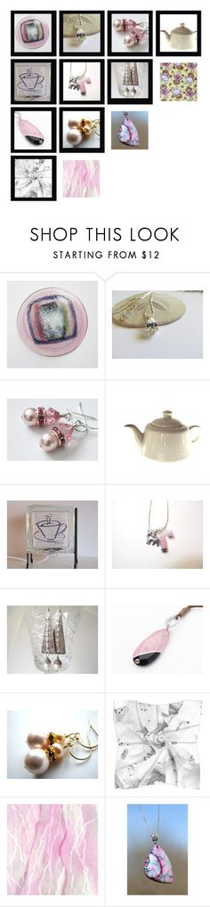 Sweet in Pink by whimzingers on Polyvore featuring vintage