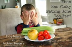 Not all picky eating is the same, for some kids their eating is beyond picky. Learn more about picky eaters vs problem feeders from this pediatric occupational therapist and mom.