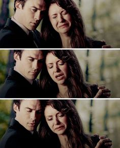 """""""[5x04] this scene was so freaking sad but I love how Damon was there for her"""