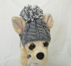 Pet Clothes   Dog Hat for Small Dogs Hand Knit