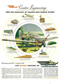 #ThrowbackThursday! Take a look at this vintage 1946 ad from Bendix!