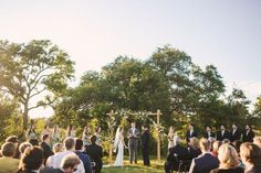 J.Standard | jstandardevents.com | Setting the Highest Standards in Event Production | Spring Outdoor Wedding | Lady Bird Johnson Wildflower Center | Texas Wedding | Outdoor Ceremony | Wedding Altar | Flower Arrangement