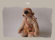 Artist Teddy Bear Tobi