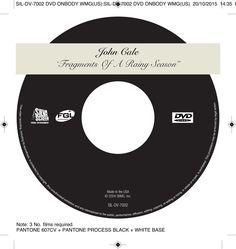 John Cale - Fragments of a Rainy Season DVD onbody. Client: Silva Screen Records. Circa 2004. © Sean Mowle.