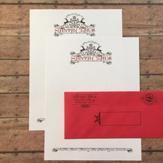 Letters from Santa - Foil Stationery