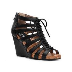 BCBG Paris Bamenda Wedge Sandal