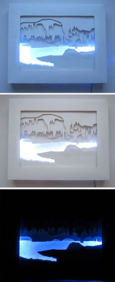Learn how to recreate images of places you love in silhouette cutouts. A unique and wonderful gift for a friend.