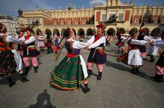 """The Krakowiak is a fast, syncopated Polish dance in duple time from the region of Krakow and Little Poland. This dance is known to imitate horses, the steps mimic their movement, for horses were well loved in the Krakow region of Poland for their civilian as well as military use. It became a popular ballroom dance in Vienna ('Krakauer') and Paris ('Cracovienne')."