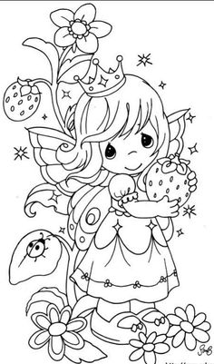 Precious Moments Princess Coloring Pages - Precious Moments Coloring Pages : KidsDrawing – Free Coloring Pages Online Detailed Coloring Pages, Fairy Coloring Pages, Princess Coloring Pages, Disney Coloring Pages, Animal Coloring Pages, Coloring Pages To Print, Printable Coloring Pages, Coloring Pages For Kids, Coloring Books