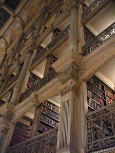 George Peabody Library, Baltimore, Maryland.