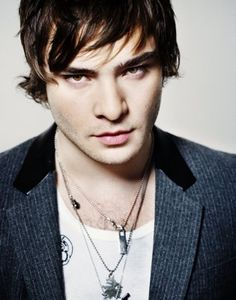 Ed Westwick--a little young, but hmmm, add a British accent in and...