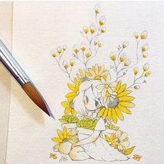 Yellow  (zoe tattoo?)