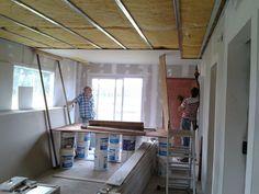 Taringa! Hice mi casa en Steel Framing y quiero compartirlo Steel Framing, Living Comedor, Loft, Furniture, Home Decor, Drywall, Internet, Frame, Ideas