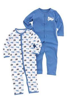 Lækre Name it Pyjamas 2-Pack Blå Mønstret Name it Nat- & hyggetøj til Børn & teenager i behageligt materiale