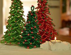 Christmas Tree Tutorial Christmas Decor Beaded Christmas Tree PDF Format von FlorenHandicrafts auf Etsy https://www.etsy.com/de/listing/160505069/christmas-tree-tutorial-christmas-decor