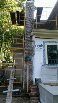 Glen-Gery Brick Fireplace, Smithtown, N.Y 11787 #glengery #brickwork www.stonecreationsoflongisland.net