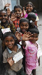 The Miracle Foundation. Provides homes to orphaned children in India. You can adopt a child and support them.
