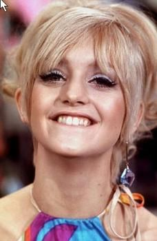 Goldie Hawn from   Rowan & Martin's Laugh In