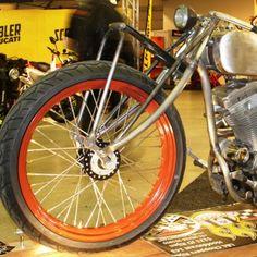 Leaf spring forks #motorcycle #modification