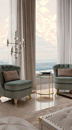 60 Best Classic Interior Design Ideas How To Make Your Home living room decor idea Contemporary Interior, Modern Interior Design, Modern Classic Interior, Modern Decor, Contemporary Classic, Modern Interiors, Modern Luxury, Modern Wall, Art Deco Interiors