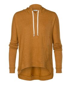 Take a look at this Cashew Heather Larchmont Hoodie by StyleMint on #zulily today!