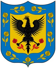 File:Escudo de Bogotá.svg Ecuador, Imperial Eagle, Roman Empire, Coat Of Arms, Eagles, Country, Invitations, Tattoo, Breakfast Nook
