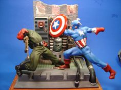 Captain America by Toy Biz (Done by Russ Hooten)