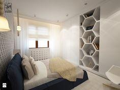 Skandynawski design - Średnia sypialnia małżeńska, styl skandynawski - zdjęcie od art inside - studio projektowania wnętrz i ogrodów