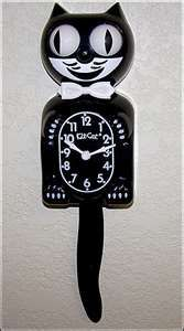 this clock was in my pediatrician's office when i was little...dr. prothro.